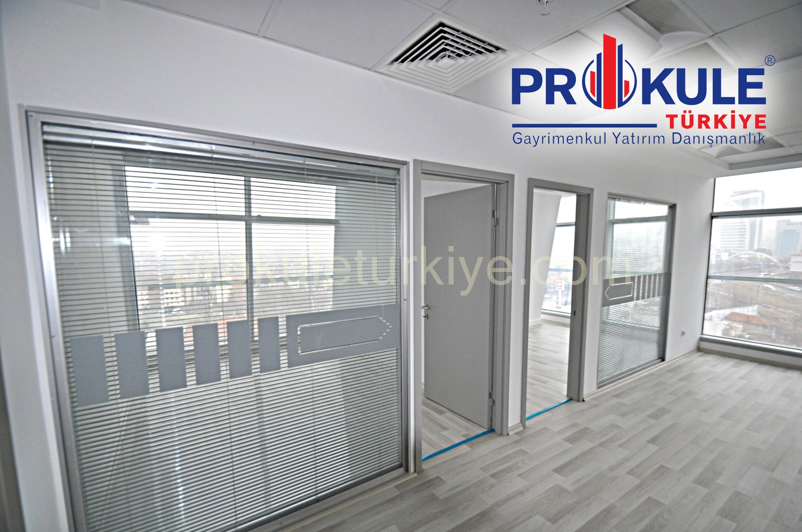 THE PARAGON DA 80 M2 YAPILI HAZIR OFİS